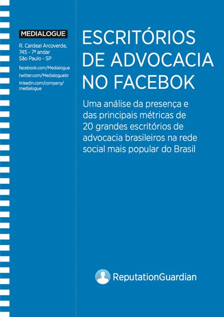 Estudo escritorios de advocacia no Facebook Medialogue